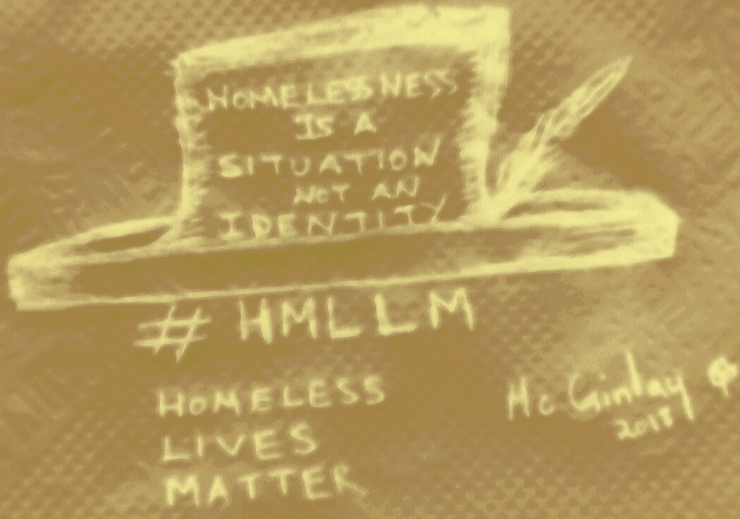 Homelessness is a situation not an identity © McGinlay