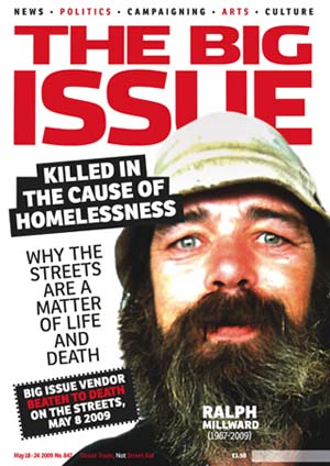 The Big Issue cover of 18 May